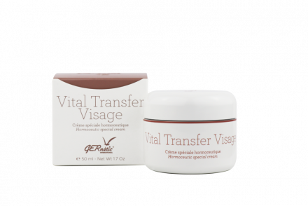 Крем для лица специальный в период менопаузы GERnetic VITAL TRANSFER VISAGE 50мл: фото