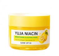 Маска ночная для сияния кожи SOME BY MI Yuja Niacin 30 Days Miracle Brightening Sleeping Mask 60г: фото
