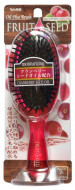 Увлажняющая расческа для волос с маслом семян клюквы, круглая VESS Fruit Seed Brush 1шт: фото