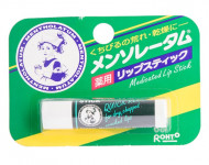 Бальзам для губ в стике с ланолином MENTHOLATUM Lip Stick 4,5 г: фото