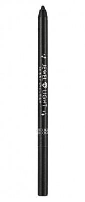 Карандаш-подводка тонкий Holika Holika Jewel Light 01 Black twister, чёрный 0,7 г: фото
