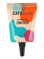 Консилер увлажняющий CATSMONG Blemish Tok Concealer 01 Soft Beige, светло-бежевый 10 мл: фото