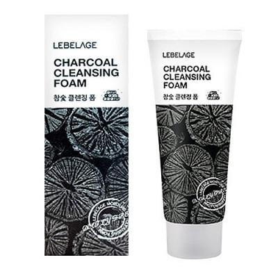 Пенка для умывания с углем Lebelage Cleansing Foam Charcoal 100мл: фото