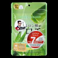 Тканевые маски с экстрактом алоэ JAPAN GALS 7шт: фото
