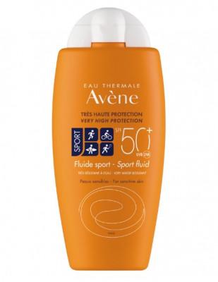 Солнцезащитный флюид AVENE SUNCARE Sport SPF50+ 100 мл