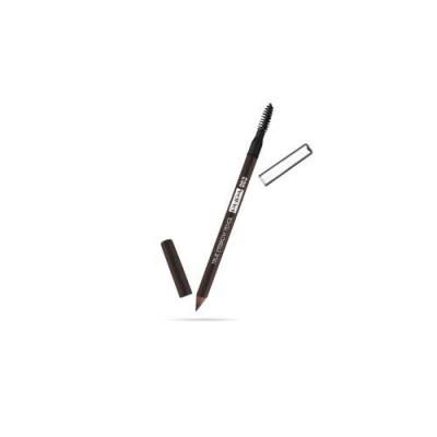 Карандаш для бровей PUPA TRUE EYEBROW PENCIL тон 003 Темно-коричневый