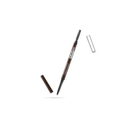Карандаш для бровей PUPA HIGH DEFINITION EYEBROW PENCIL тон 002 Коричневый