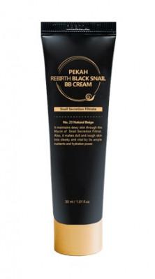 BB-крем с муцином черной улитки PEKAH Rebirth Black Snail BB Cream тон23 30мл