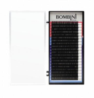 Ресницы Bombini Черные, 20 линий, С, 0.12, 14: фото