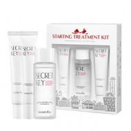 Набор: крем для кожи вокруг глаз, крем для лица, эссенция для лица Secret Key Starting Treatment Kit 50мл + 15г + 25г: фото