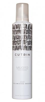 Мусс для объема легкой фиксации CUTRIN MUOTO LIGHT VOLUMIZING MOUSSE 300мл: фото
