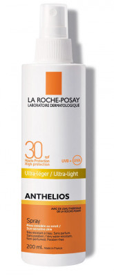 Спрей невидимый для лица и тела La Roche-Posay Anthelios SPF30 200мл: фото