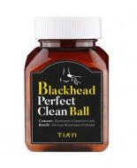Коконы шелковые очищающие TIAM Blackhead Perfect Clean Ball 50мл/10шт: фото