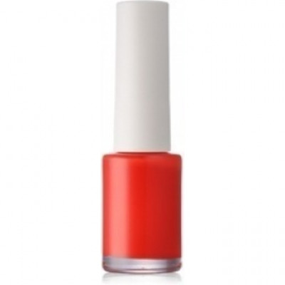 Лак для ногтей THE SAEM Saemmul Vivid Nails 02. Vivid Orange