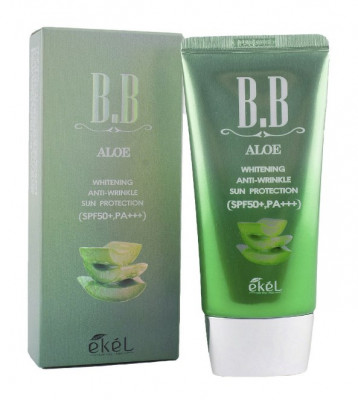 BB-крем с экстрактом алоэ Ekel Cream Aloe SPF50+ PA+++ 50 мл