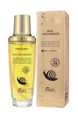 Эссенция для лица с золотом и улиточным муцином Ekel Snail Gold Essence 150 мл: фото