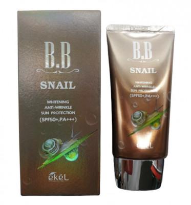 BB-крем с улиточным муцином Ekel BB Cream Aenepure Snail SPF50+ PA+++ 50 мл