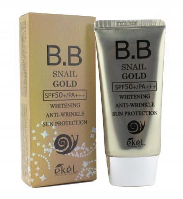 ВВ-крем солнцезащитный Ekel BB Cream Snail Gold SPF50/PA 50мл