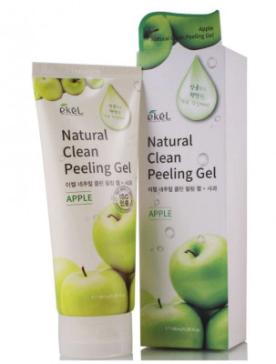 Пилинг для лица с экстрактом яблока Ekel Peeling Gel Apple 180 мл: фото