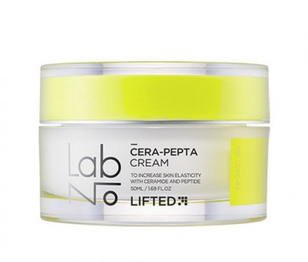 Крем с керамидами и пептидами с лифтинг эффектом LabNo Lifted Cera-Pepta Cream 50 мл: фото