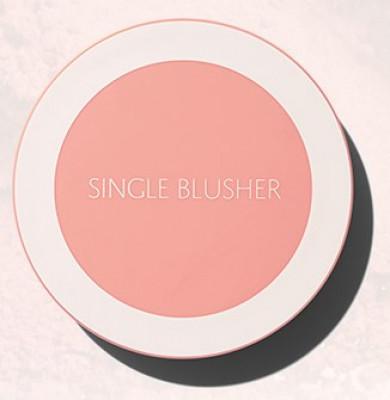 Румяна THE SAEM Saemmul Single Blusher CR07 Mango Peach