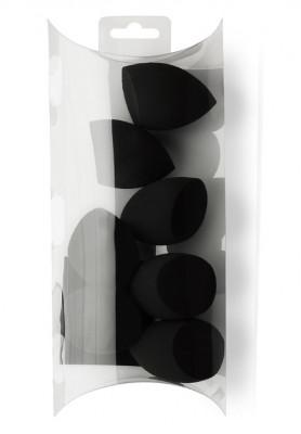 Профессиональный спонж для макияжа PROMAKEUP SPONGE черный 7шт: фото
