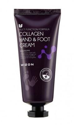 Крем для рук и ног с коллагеном MIZON Collagen Hand And Foot Cream 100мл: фото
