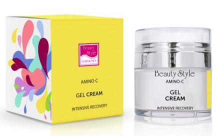 """Интенсивно восстанавливающий крем-гель Beauty Style """"Intens recovery Amino - C"""" 30 мл: фото"""
