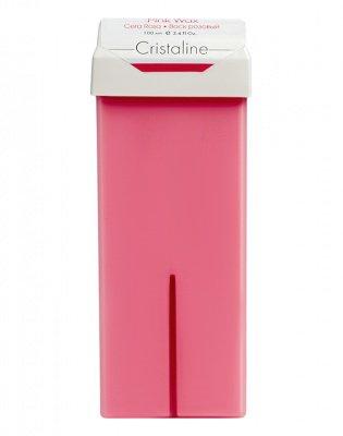 Воск розовый в картридже CRISTALINE 100мл: фото