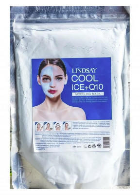 Альгинатная маска c коэнзимом Lindsay Cool Ice+Q10 Modeling Mask 240г: фото