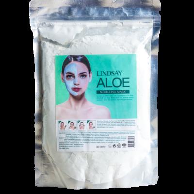 Альгинатная маска с экстрактом алоэ Lindsay Aloe Modeling Mask 240г: фото