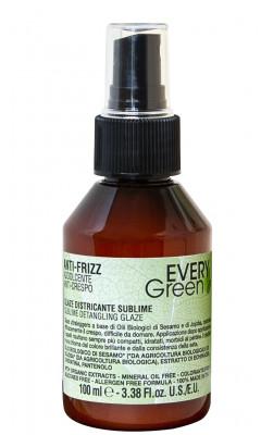 Глазурь для распутывания непослушнных волос Dikson EVERY GREEN detangling glaze 100мл: фото