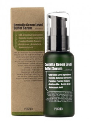 Сыворотка с центеллой PURITO Centella Green Level Buffet Serum 60мл: фото