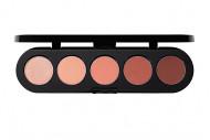 Тени прессованные палитра 5 цветов Make-up-Atelier Т34 гламурный шик, 10 г: фото