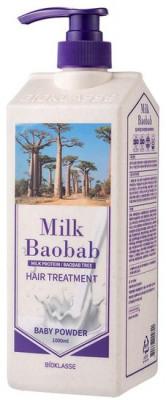 Бальзам для волос с ароматом детской присыпки Milk Baobab Original Treatment Baby Powder 1000мл: фото