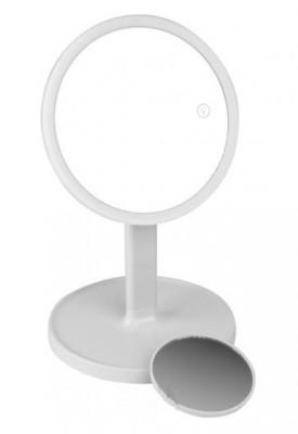 Зеркало косметологическое 1x/7x со светодиодной подсветкой Gezatone LM208 (белое) Gezatone: фото
