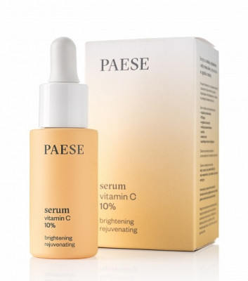 Сыворотка с витамином С PAESE VITAMIN C 10% BRIGHTENING REJUVENATING SERUM 15мл: фото