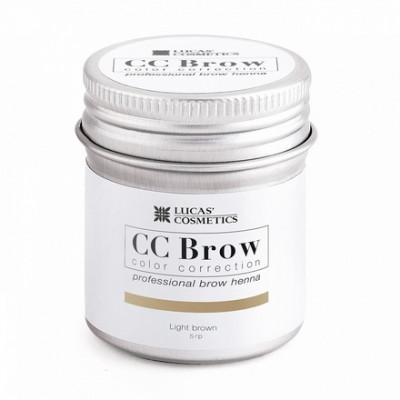 Хна для бровей CC Brow в баночке (light brown) 5 г: фото