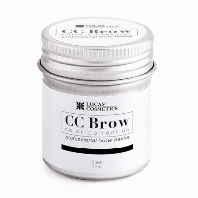 Хна для бровей CC Brow в баночке (black) 10 г: фото