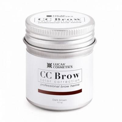 Хна для бровей CC Brow в баночке (dark brown) 10 г: фото