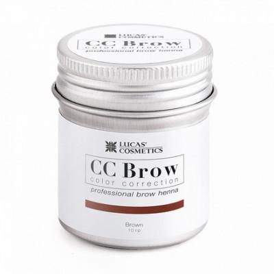 Хна для бровей CC Brow в баночке (brown) 10 г: фото