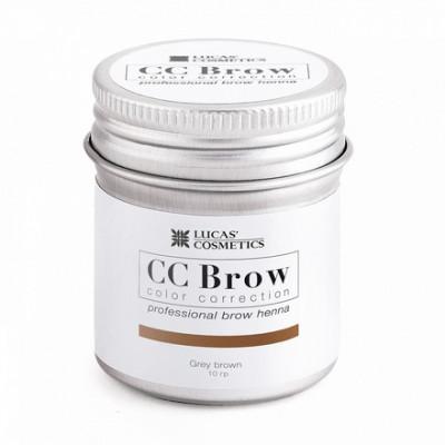 Хна для бровей CC Brow в баночке (grey brown) 10 г: фото