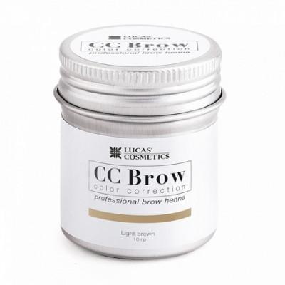 Хна для бровей CC Brow в баночке (light brown) 10 г: фото