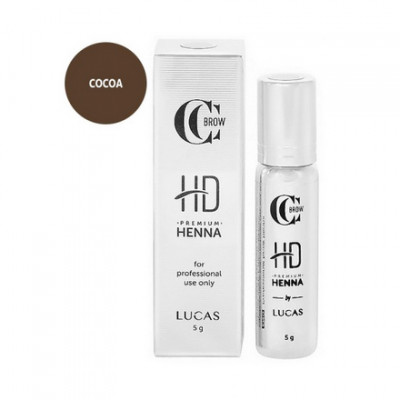 Хна для бровей CC Brow Premium henna HD Cocoa 5 г: фото
