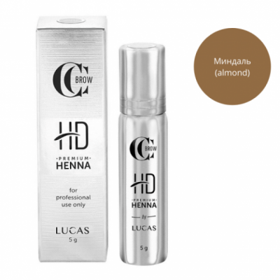 Хна для бровей CC Brow Premium henna HD Almond 5 г: фото