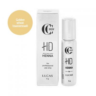 Хна для бровей CC Brow Premium henna HD Golden wheat 5 г: фото