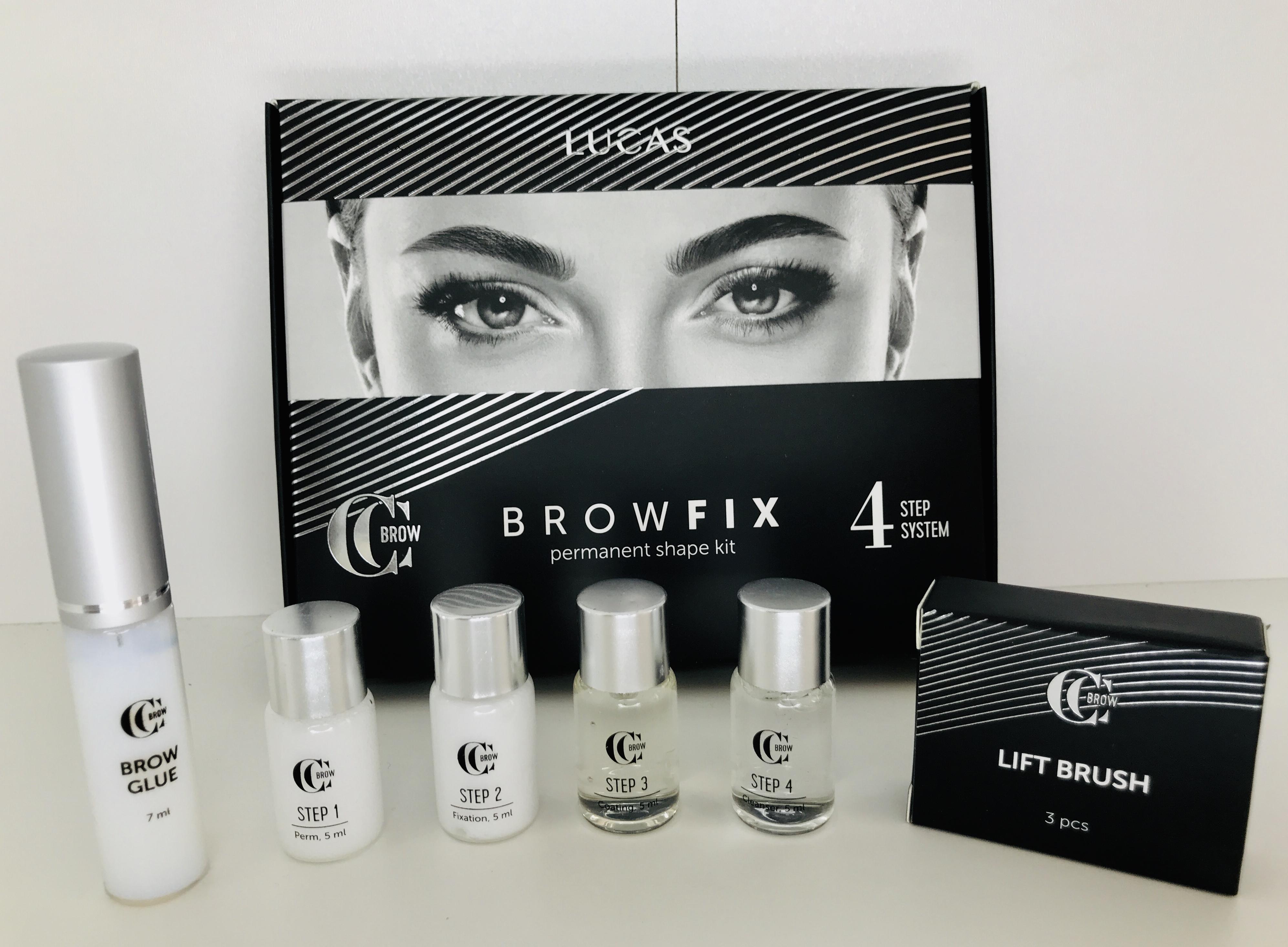 Набор для долговременной укладки бровей CC Brow BROWFIX: фото