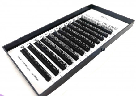 Ресницы CC Lashes C 0.07 mix (7-12 мм): фото