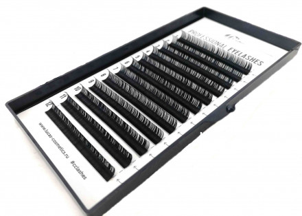 Ресницы CC Lashes D 0.10 mix (7-12 мм): фото