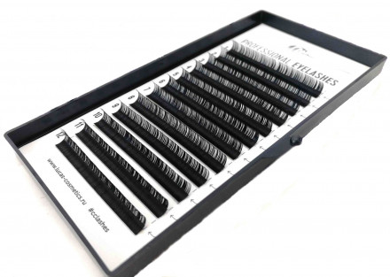 Ресницы CC Lashes D 0.07 mix (7-12 мм): фото